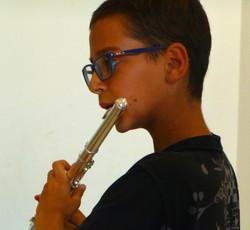 Lorenzo Castellari, flauto