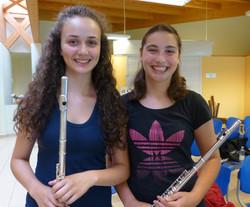Chiara Foti, Sophie Davoli, flauti