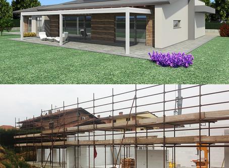 Poirino: una casa ad altissima efficienza energetica ed..... economica!!