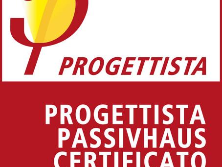 Progettista Passivhaus Certificato