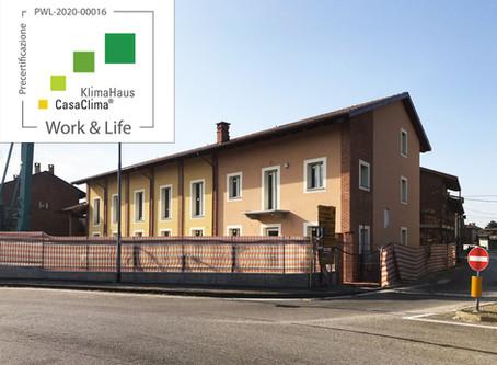 CasaClima Work&Life - un edificio progettato per il benessere di chi lo occupa