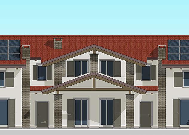 Nuova abitazione e Riva presso Chieri