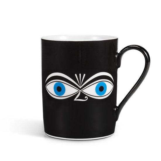 COFFEE MUG EYES BLUE
