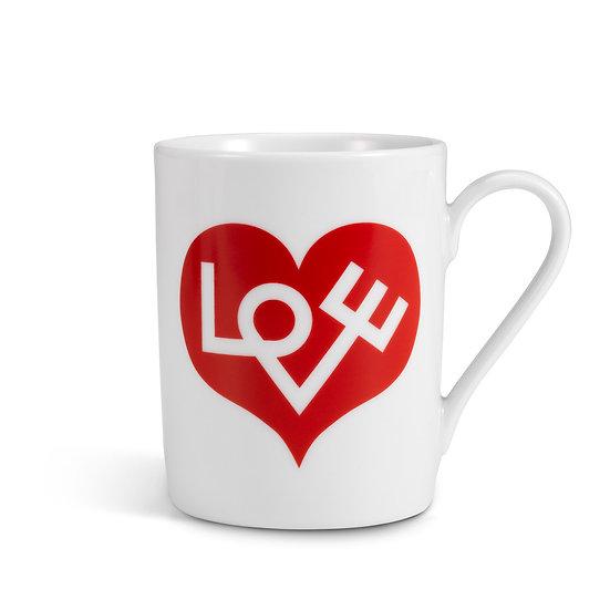 COFFEE MUG LOVE RED