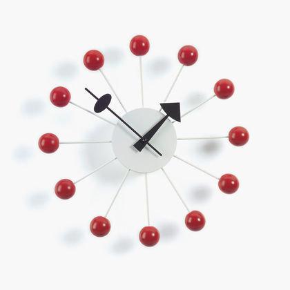 BALL CLOCK Rosso