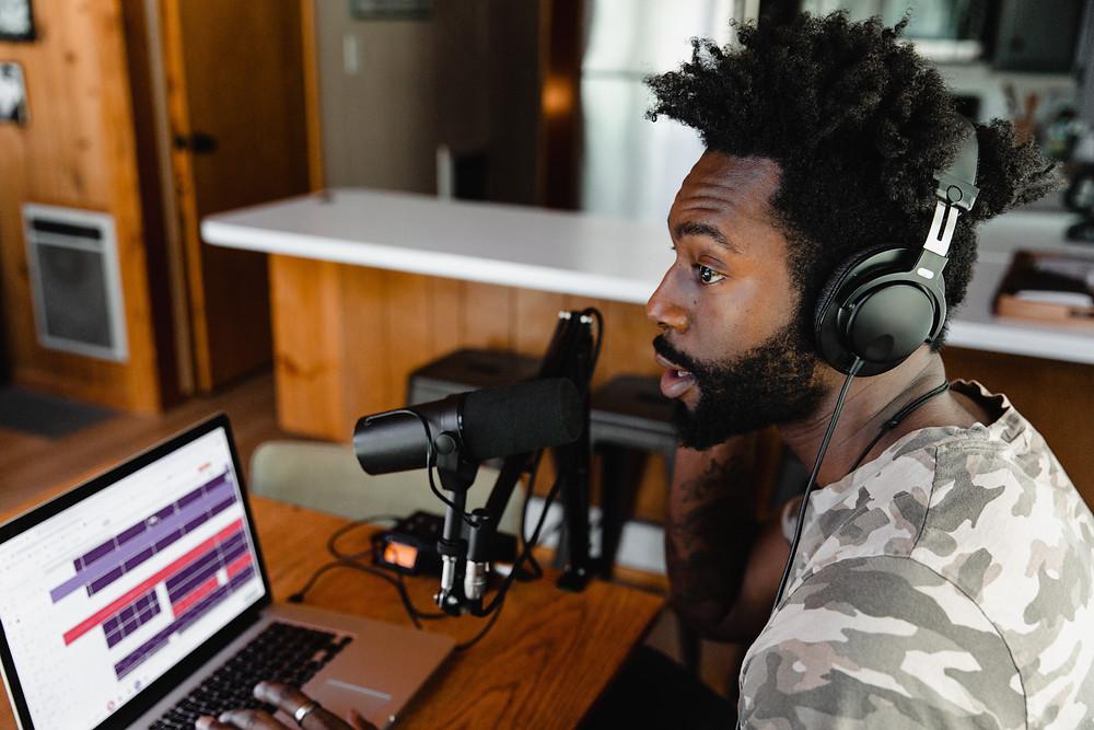 Find a podcast presenter - Image by Soundtrap on Unsplash