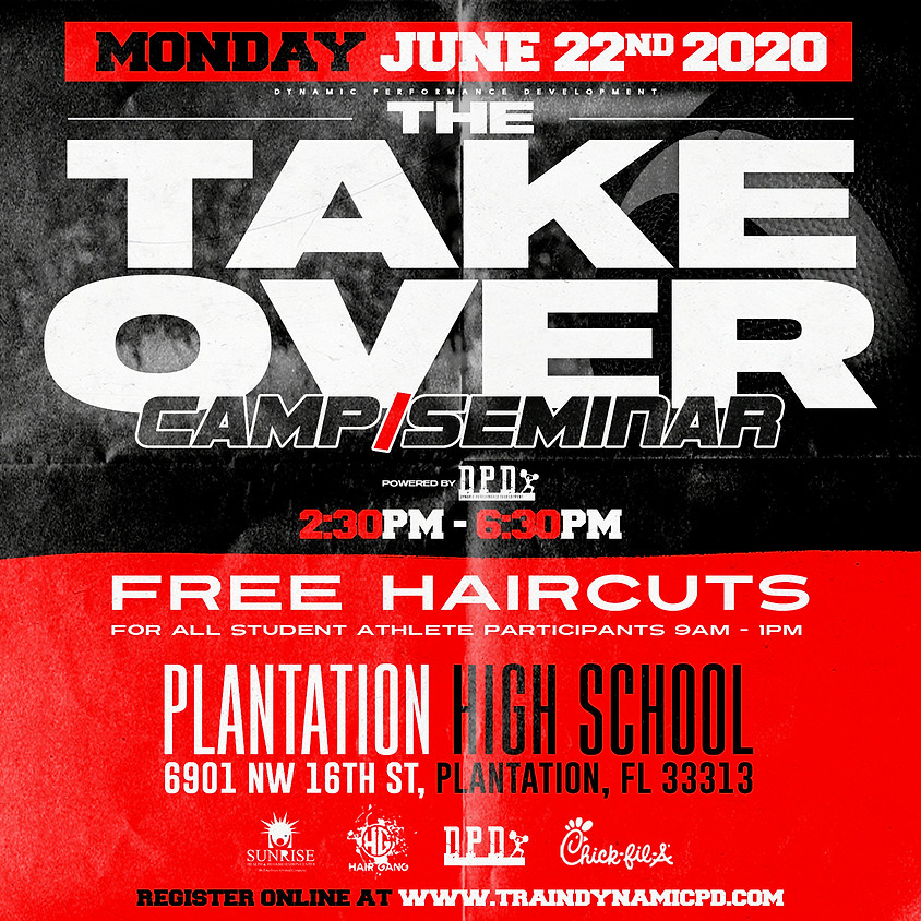 The Takeover Camp/Seminar (CANCELED)