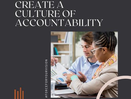 HR Tip: Create a Culture of Accountability