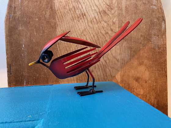 Metal Art Silverware Cardinal