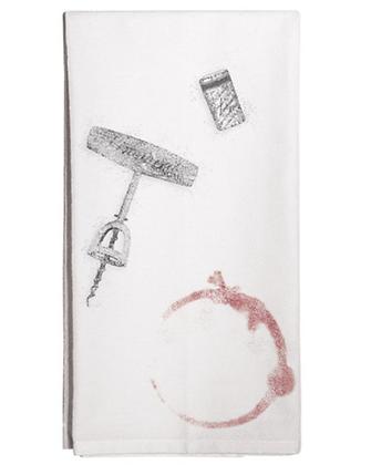 Wine Stain Flour Sack  Towel