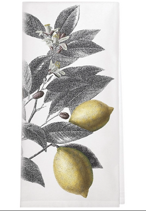 Lemon Branch Flour Sack  Towel