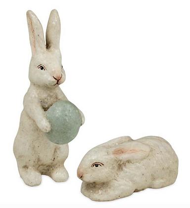 Mini Ivory Bunny Set