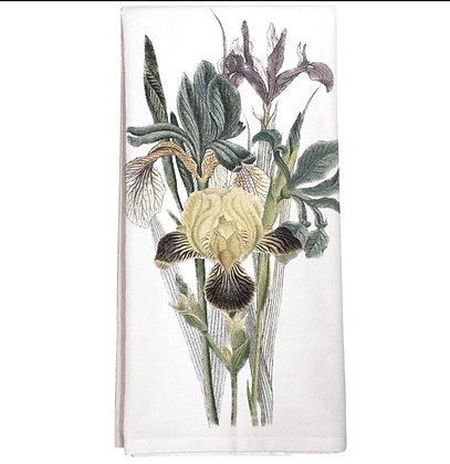 Iris Flour Sack Towel
