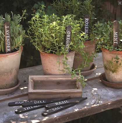 Set of Herb Plant Stakes
