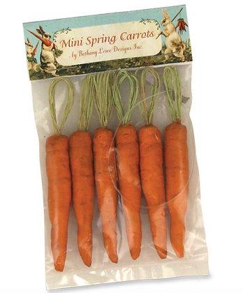 Mini Carrot Ornament