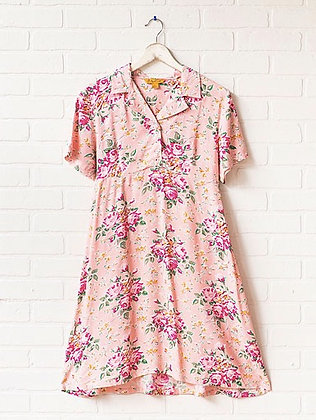 Viola Rose Shirt Dress