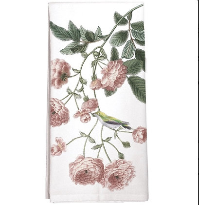 Rambling Rose Flour Sack Towel