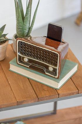 Ceramic Transister Radio Smartphone Speaker