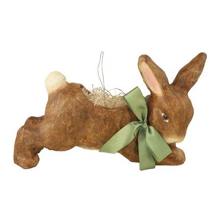 Brown Running Bunny Bucket
