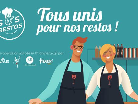 Restaurateurs & Covid-19 : Rivalis et les Meilleurs Ouvriers de France unissent leurs forces