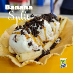 Sorvetes Natuice - Banana Split