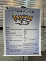 1° Desafio Pokémon Platinum, evento de lançamento realizado na Saraiva Center Norte em São Paulo