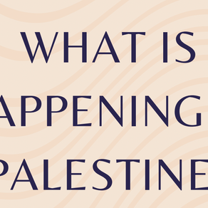 What Is Happening in Palestine?