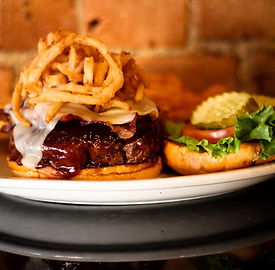 Cash's Burger from J.R. Cash's Grill & Bar at Big Water Marin on Lake Hartwell, SC