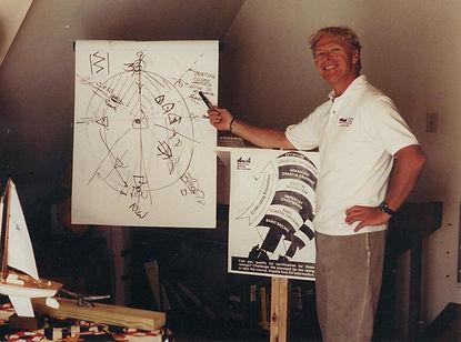 Captain Buddy Price, Instructor of ASA Sailing Classes at Big Water Marina on Lake Hartwell