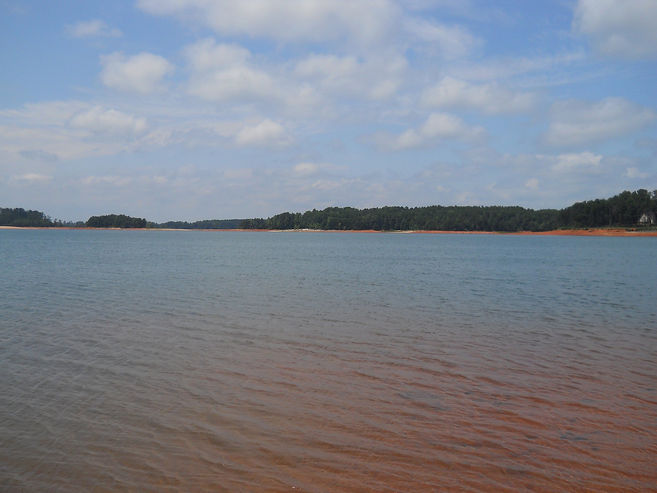 Lake Hartwell at Big Water Marina