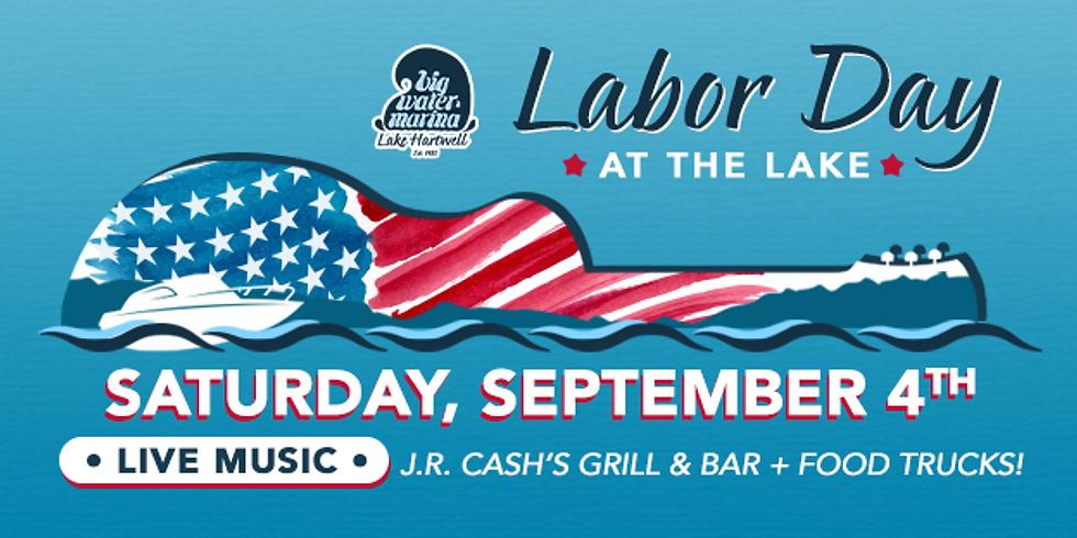 Labor Day Weekend at Big Water Marina