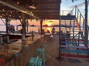 Big Water Marina Bar & Grill at Sunset