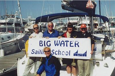 Instructor and Students at Big Water Marina ASA Sailing School—Lake Hartwell