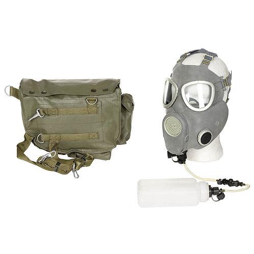 Pol. Schutzmaske MP4B, Filt., Trinkfl., Schlauch, (VK N. EU)