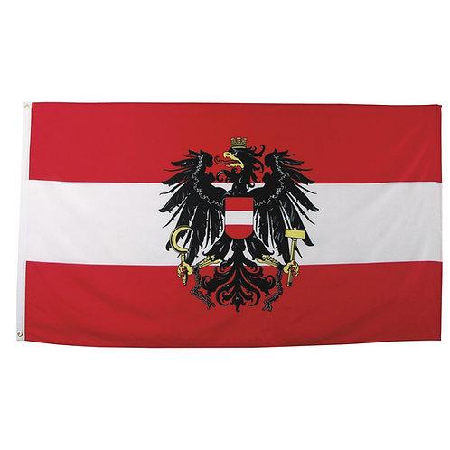 Fahne, Österreich, Polyester, 90 x 150 cm