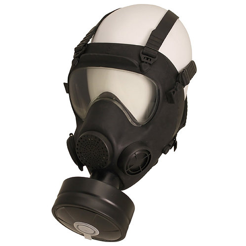 Pol. Schutzmaske MP5, Filter, neuw. (VERKAUF NUR EU)