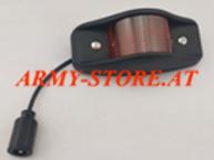 Humvee M-Serie, Marker Light Led Red PlasticBlack