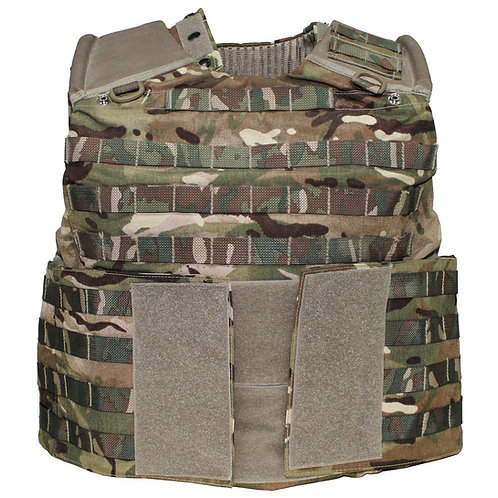 Brit. Cover-Body-Armour, Osprey ASSAULT, MTP tarn,gebr.