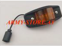 Humvee M-Serie, Marker Light Led AmberPlastic Black
