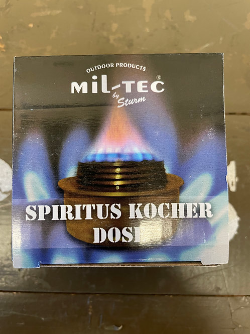 SPIRITUS KOCHER DOSE