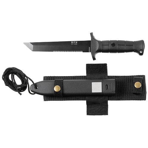 Kampfmesser, KEIN ORIGINAL, Kunststoffgriff, Scheide, ab 18 Jahre