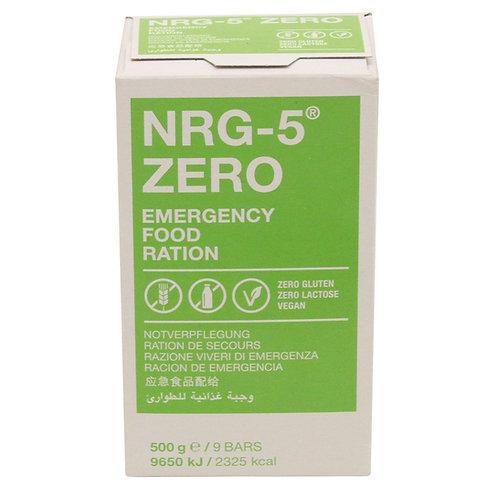 Notverpflegung, NRG-5, ZERO, 500 g, (9 Riegel)