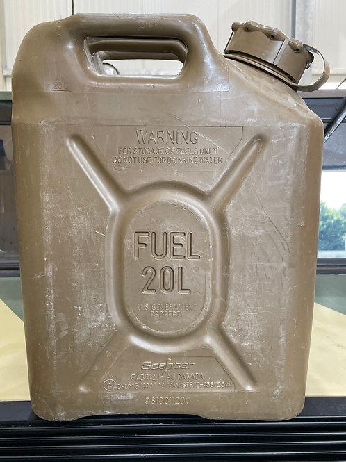 US-Army Benzinkanister, 20 Liter