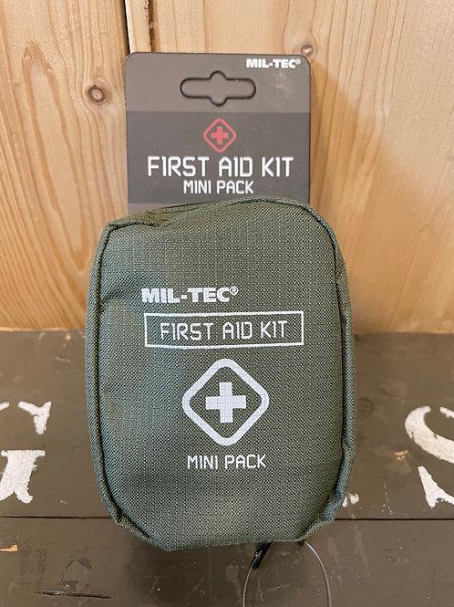 FIRST AID PACK MINI OLIV
