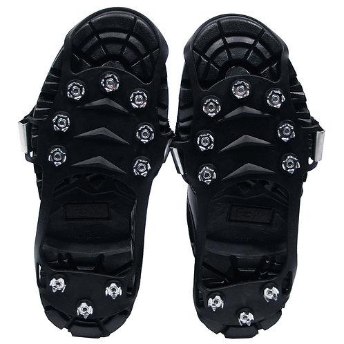 Schuhspikes, schwarz, mit 10 Noppen