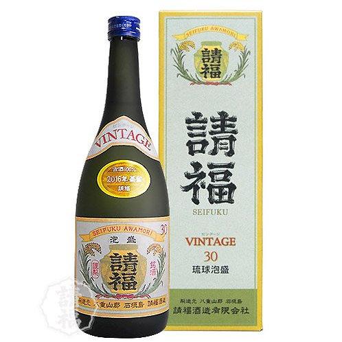 請福酒造(有) ヴィンテージ 3年古酒 30度 720ml