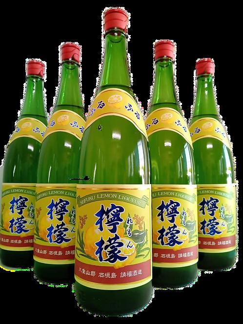 請福酒造(有) 請福レモン 10度 1800ml