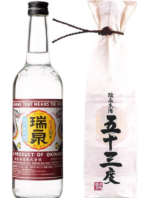 瑞泉酒造(株) 原酒53度 600ml