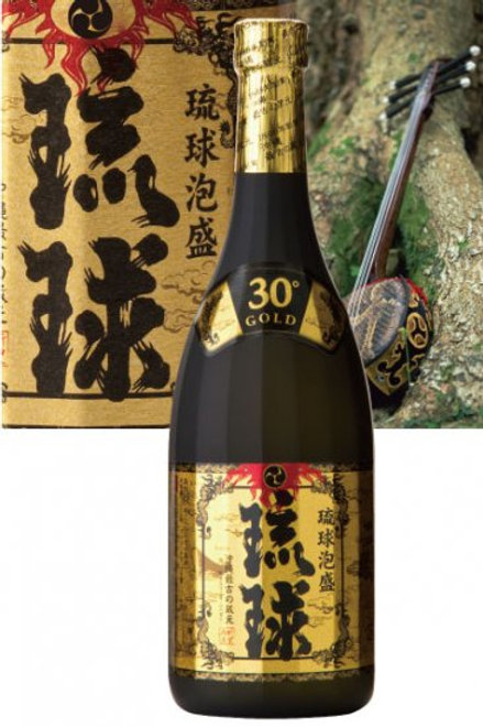 新里酒造(株) 琉球GOLD 30度 720ml