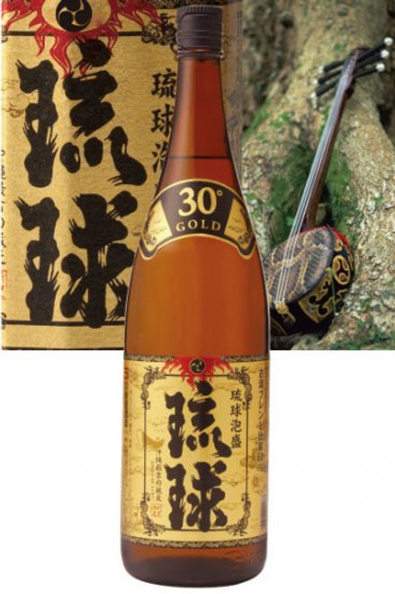 新里酒造(株) 琉球GOLD 30度 1800ml
